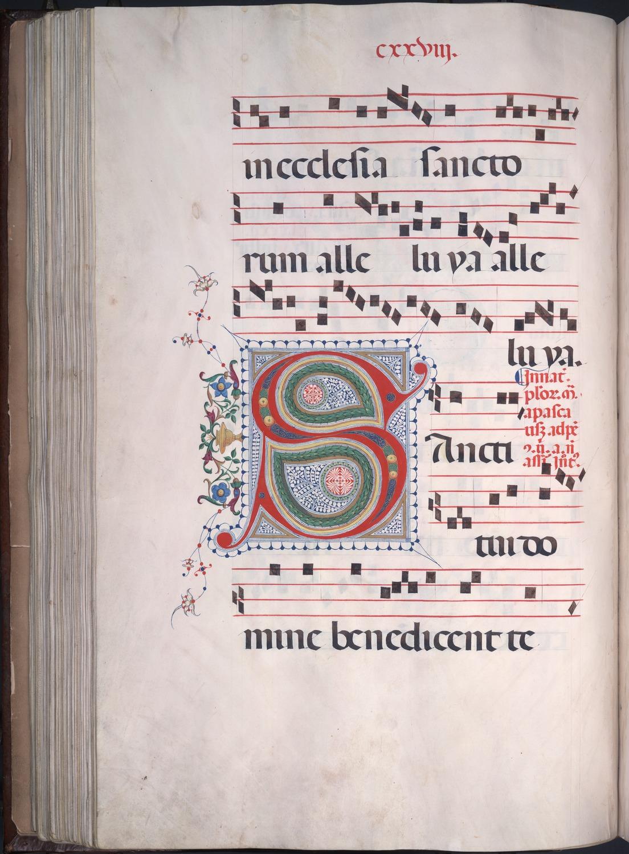 77. Beinecke MS 42, f.126v (color)