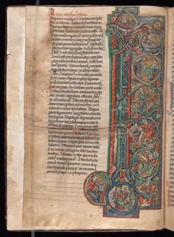 86. Beinecke MS 674, f. 1v (color)