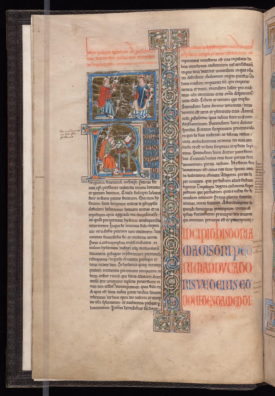 20. Beinecke MS 214, f. 3v (color)
