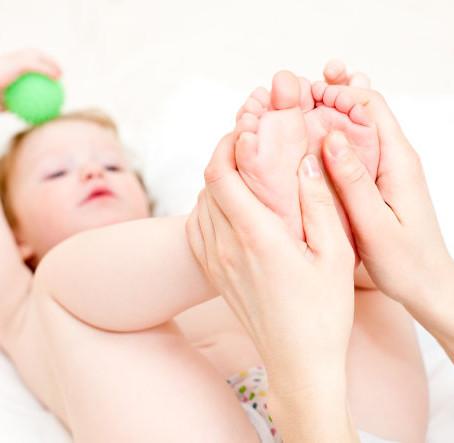 Iedere baby verdient Babymassage