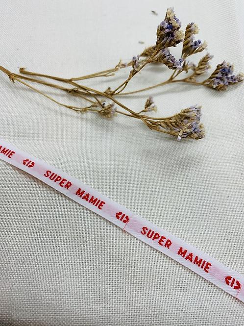 Bracelet Ruban SuperMamie