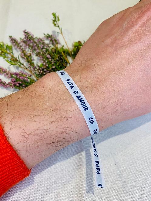 Bracelet Ruban PapaDAmour