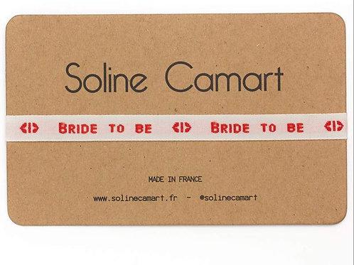 Bracelet Ruban BrideToBe