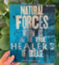 """""""Natural Forces within us are the True H"""