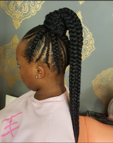 Braided-Up Do