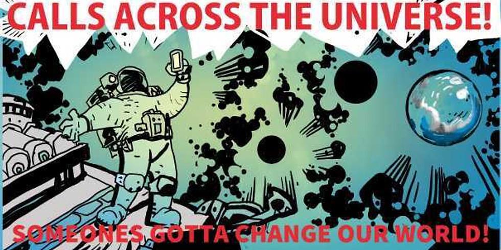 CALL ACROSS THE UNIVERSE - Flip Arizona Blue