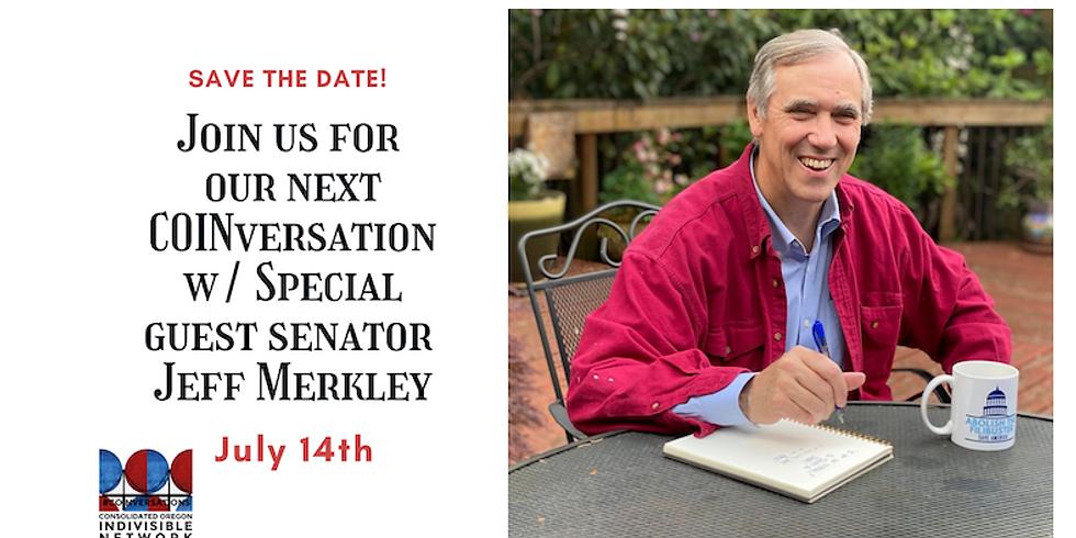 COINversation with Senator Jeff Merkley