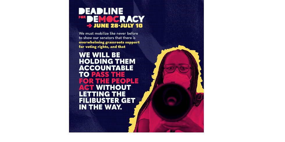 Persist Tuesday! Deadline for Democracy