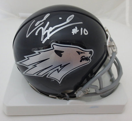 Colin Kaepernick Autographed Nevada Mini Helmet MC