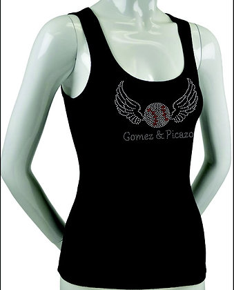 Woman's Memorial Bling Tank Top