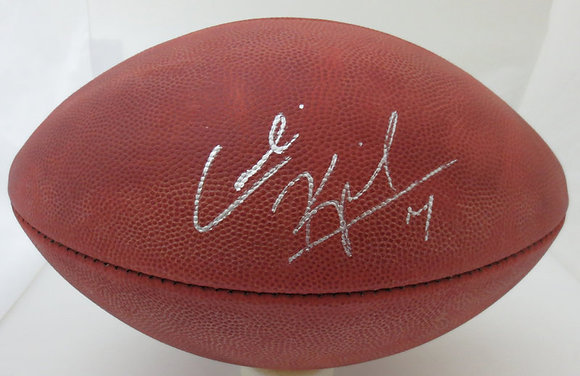 Colin Kapernick Autographed Duke Football MCM Auth