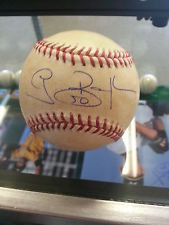 Grant Balfour Game Autographed & GAME Used 19th