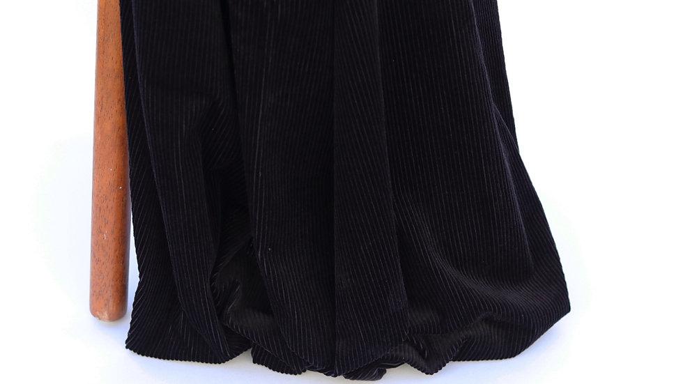 6W Vintage Corduroy Black