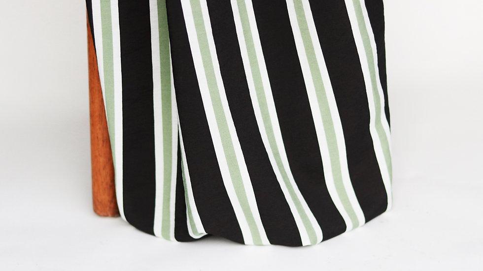 Savanna Print Stripes Mint