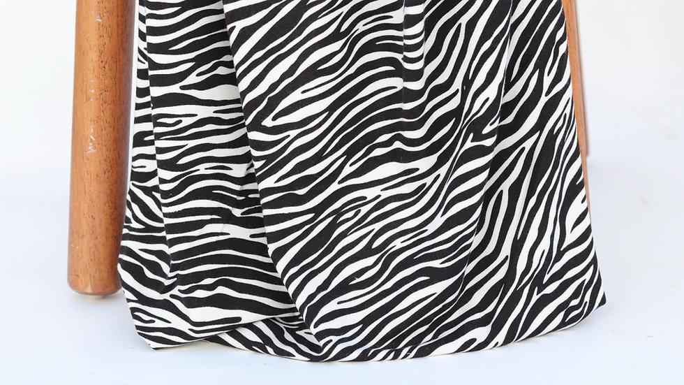 Bamboo Knit Zebra