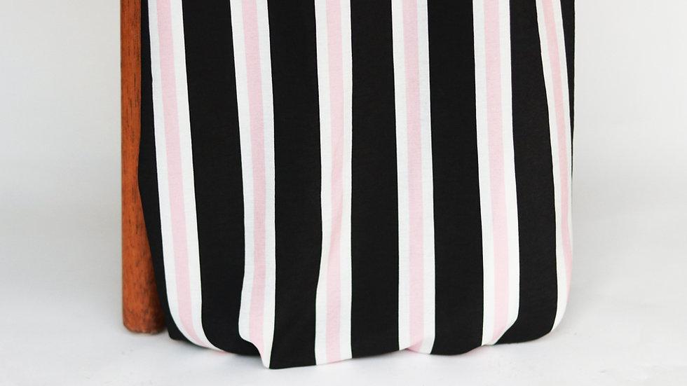 Savanna Print Stripes Blush