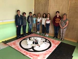 Mission Mars au collège Yvon-Delbos