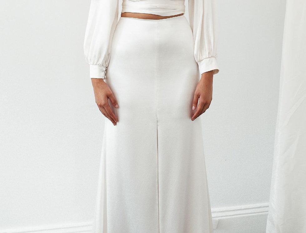 Paola Wrap Top & Fox Skirt