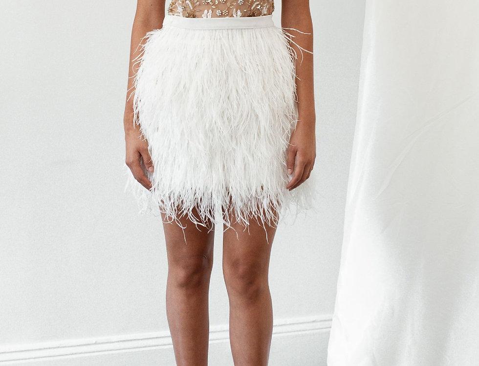 Mimi Ostrich Feather Skirt
