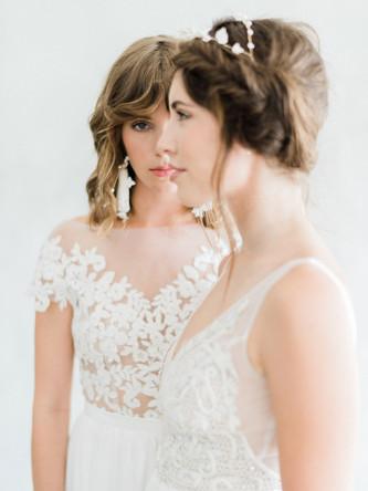 White Wedding Featured Editorial