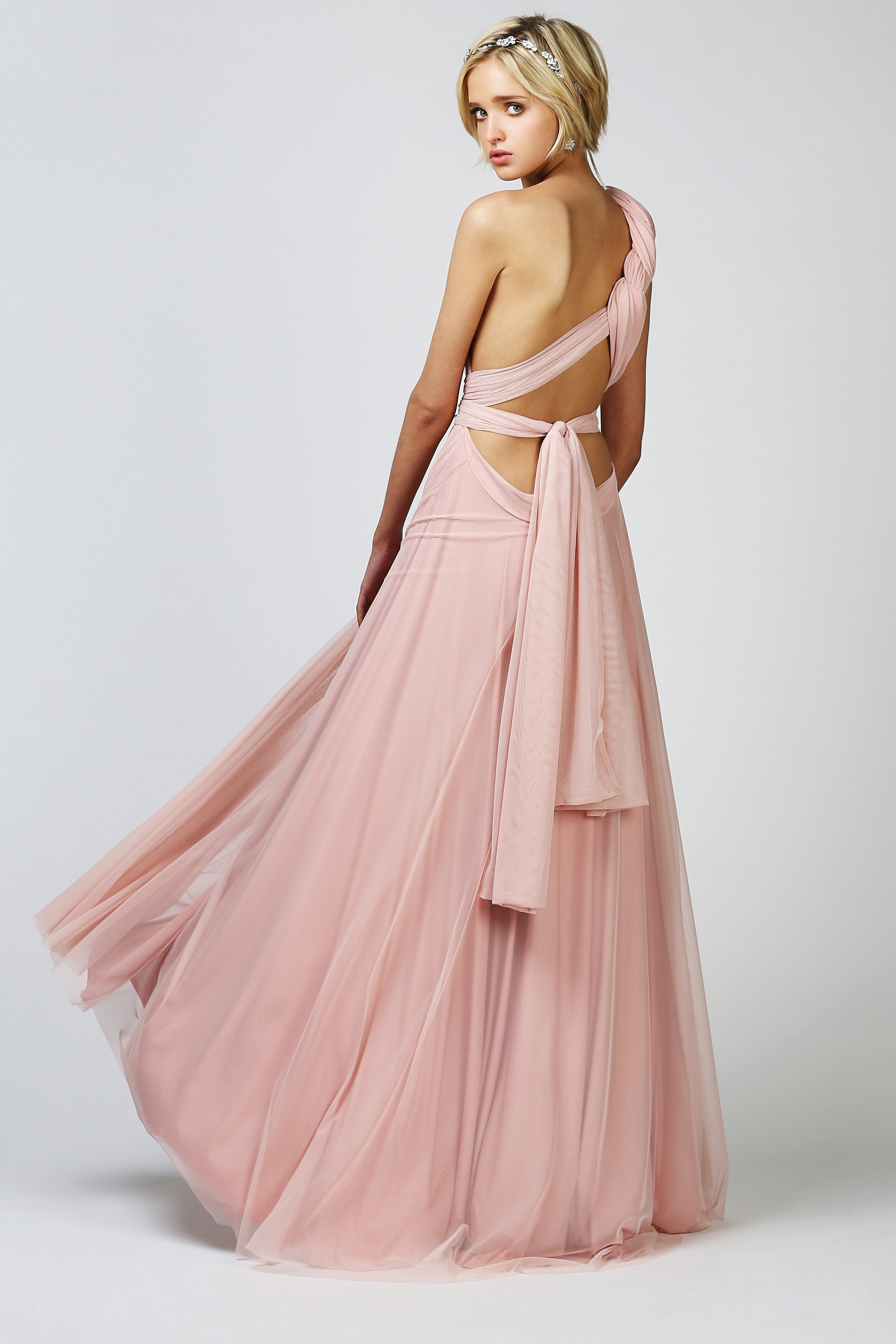 Wedding dress brisbane brisbane babushka ballerina two birds this convertible two birds bridesmaids tulle ball gown is the answer to everything made from a lovely silkjersey blend with a soft tulle these gowns fall ombrellifo Images