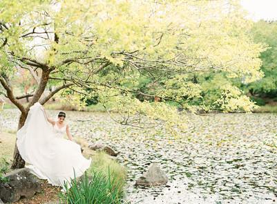 Match Made Bridal Spring Garden Editorial