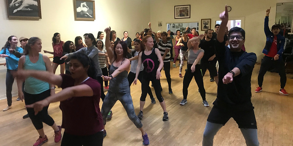 Bollywood Choreography Workout (Sept-Dec 2019 Mtn View)