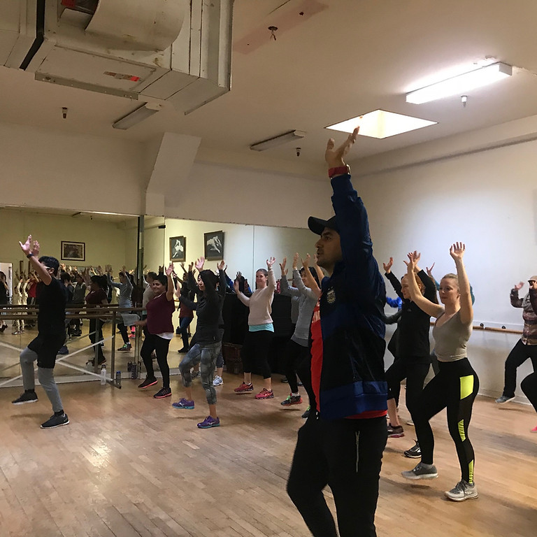 Bollywood Cardio and Choreography with Amit (Mountain View - Jan - April)
