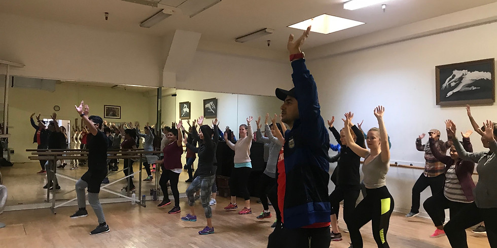Bollywood Cardio and Choreography with Amit (Mountain View - Sep - Dec)