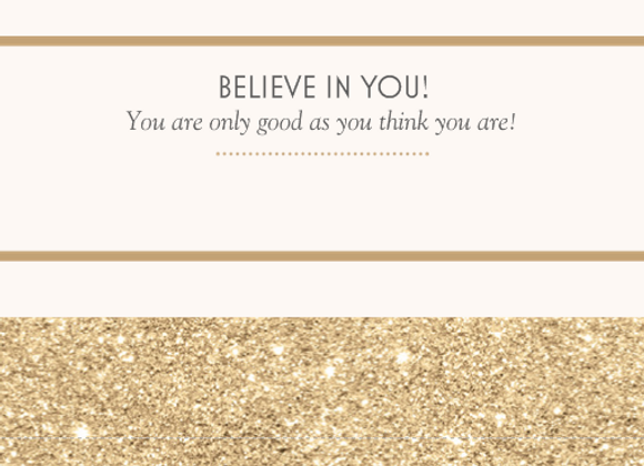Encouragement Cards - Believe/Shine