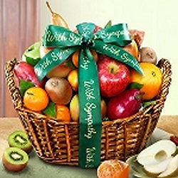 Allergy free sympathy or get well baskets bountiful sympathy negle Choice Image