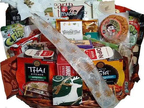 Vegan gourmet gift basket large