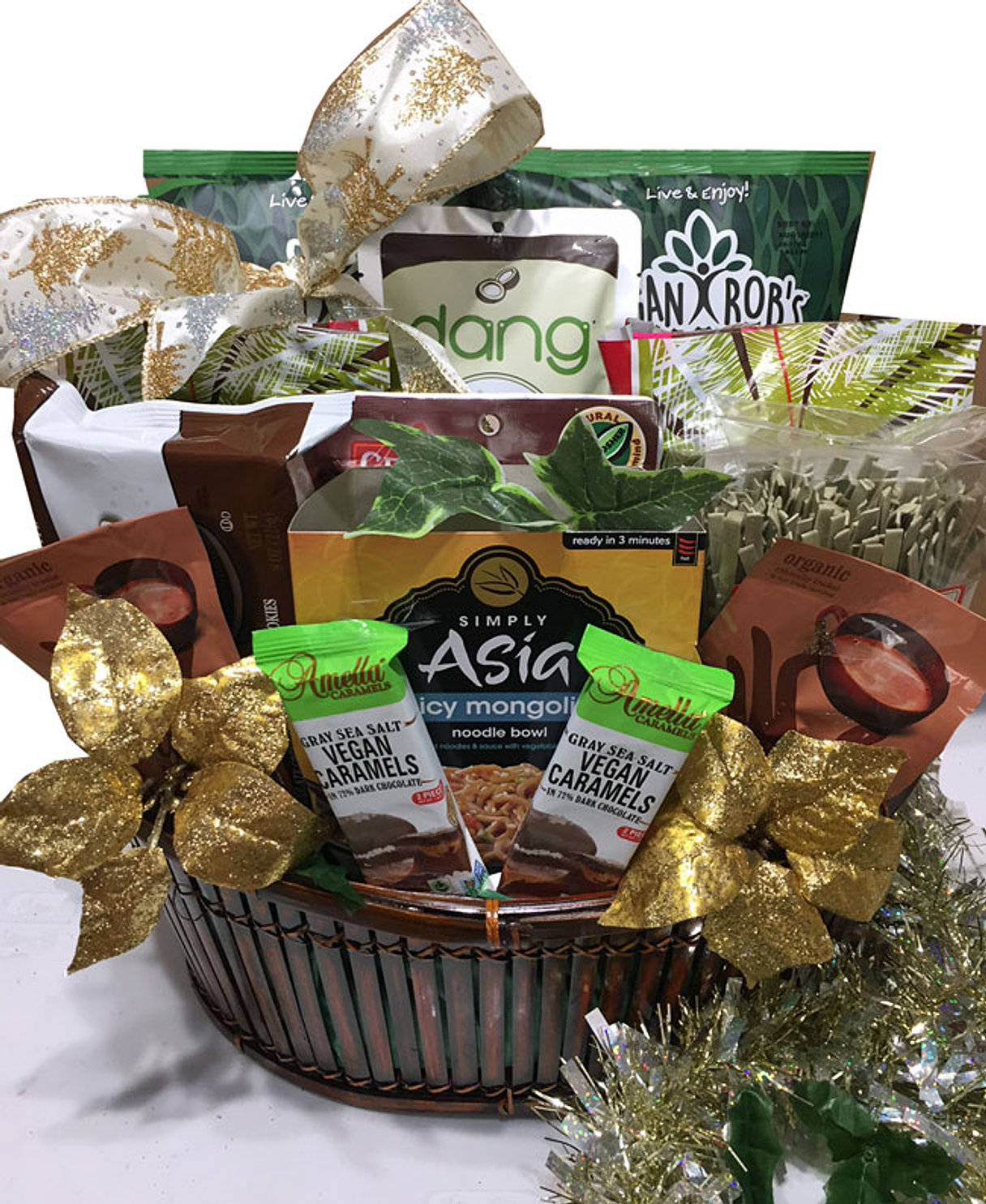 Nut allergy free christmas gift baskets