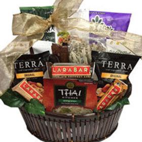 Vegan gourmet gift basket