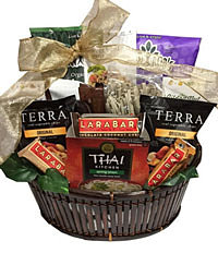 gourmet vegetarian gift baskets - 650×755