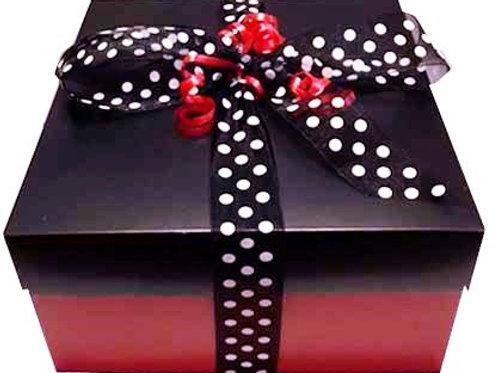 Vegan gluten free food gift box