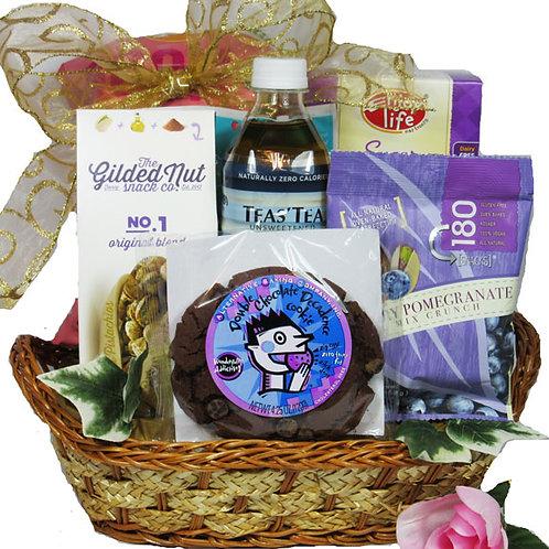 Vegan gift basket for woman
