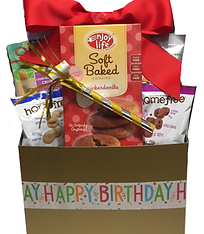 Allergy free and gluten free gift baskets by the royal basket company birthday gift baskets allergy free halloween negle Image collections