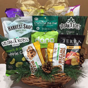 Vegan gluten free snack basket large