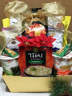 Vegan gluten free soup basket christmas