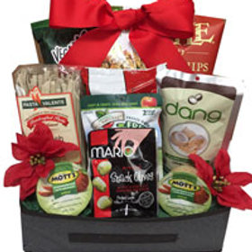 Vegan gourmet basket Christmas
