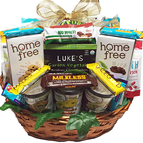 Allergy Friendly Extra Large Gift basket