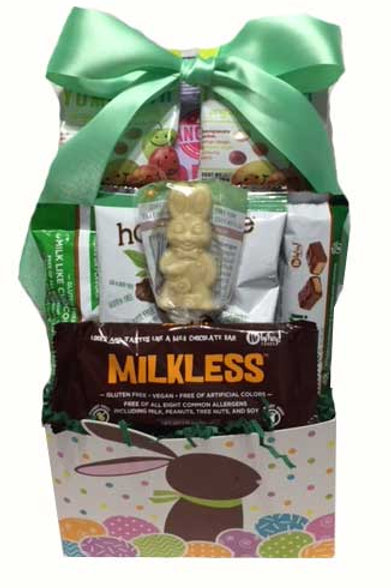 Allergy friendly vegan Easter basket