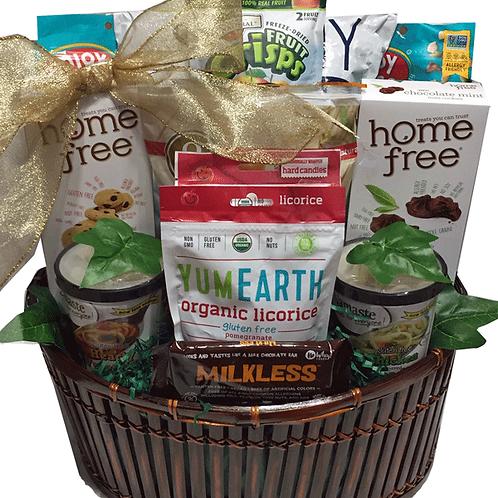 allergy friendly gourmet gift basket