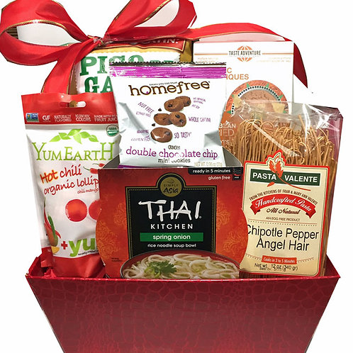 Vegan gift baskets for men