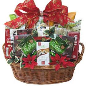 Vegan gourmet gala gift basket