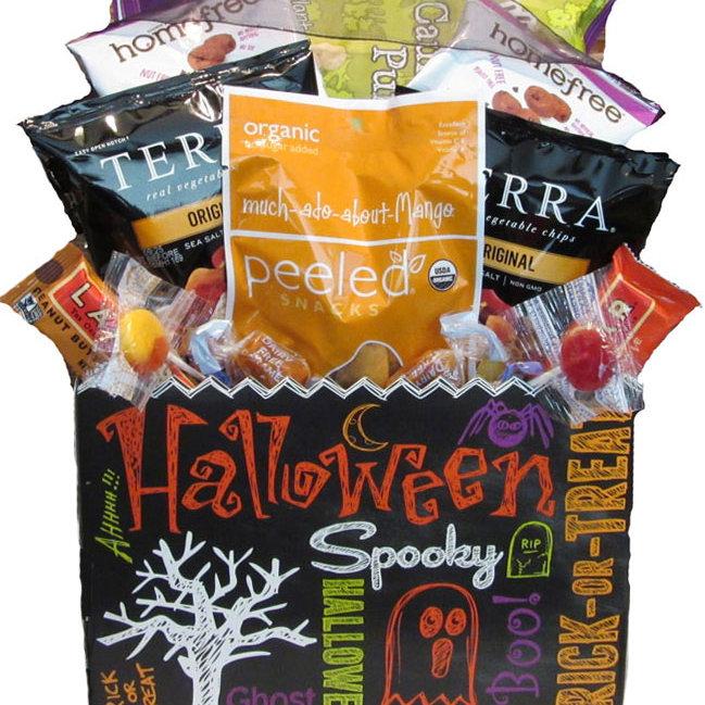 Halloween Spooky Basket.Spooky Halloween Gluten Free