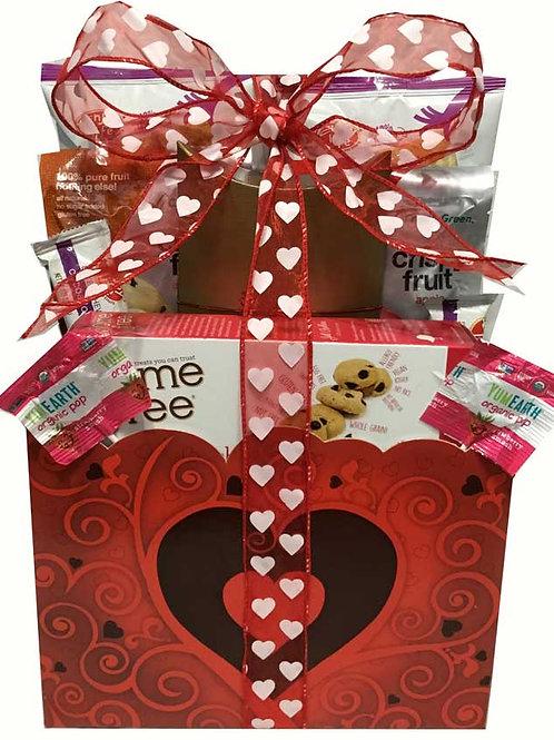 Vegan gluten free valentine basket