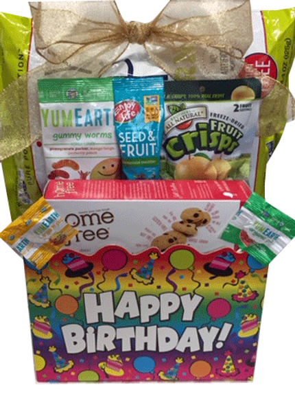 Allergy Friendly Birthday Basket