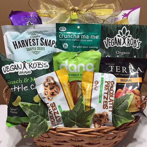 Vegan gluten free snack basket